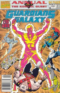 Korvac Quest - part 04 - Guardians of the Galaxy Annual 01 (01)